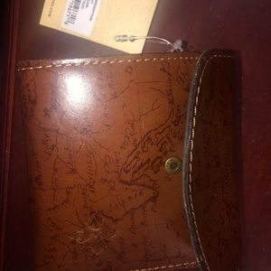 New Patrica Nash Genuine  leather map wallet